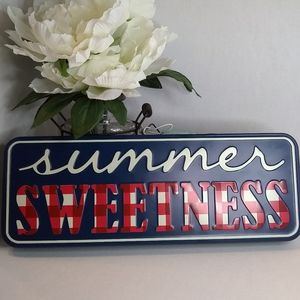 The Pioneer Woman Summer Sweetness metal sign NWT